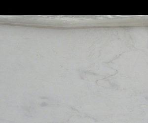 Bianco Lasa Fantastico - White marble flooring
