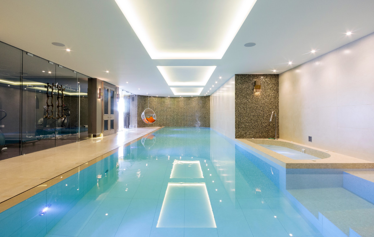 limestone flooring swimming pool 1