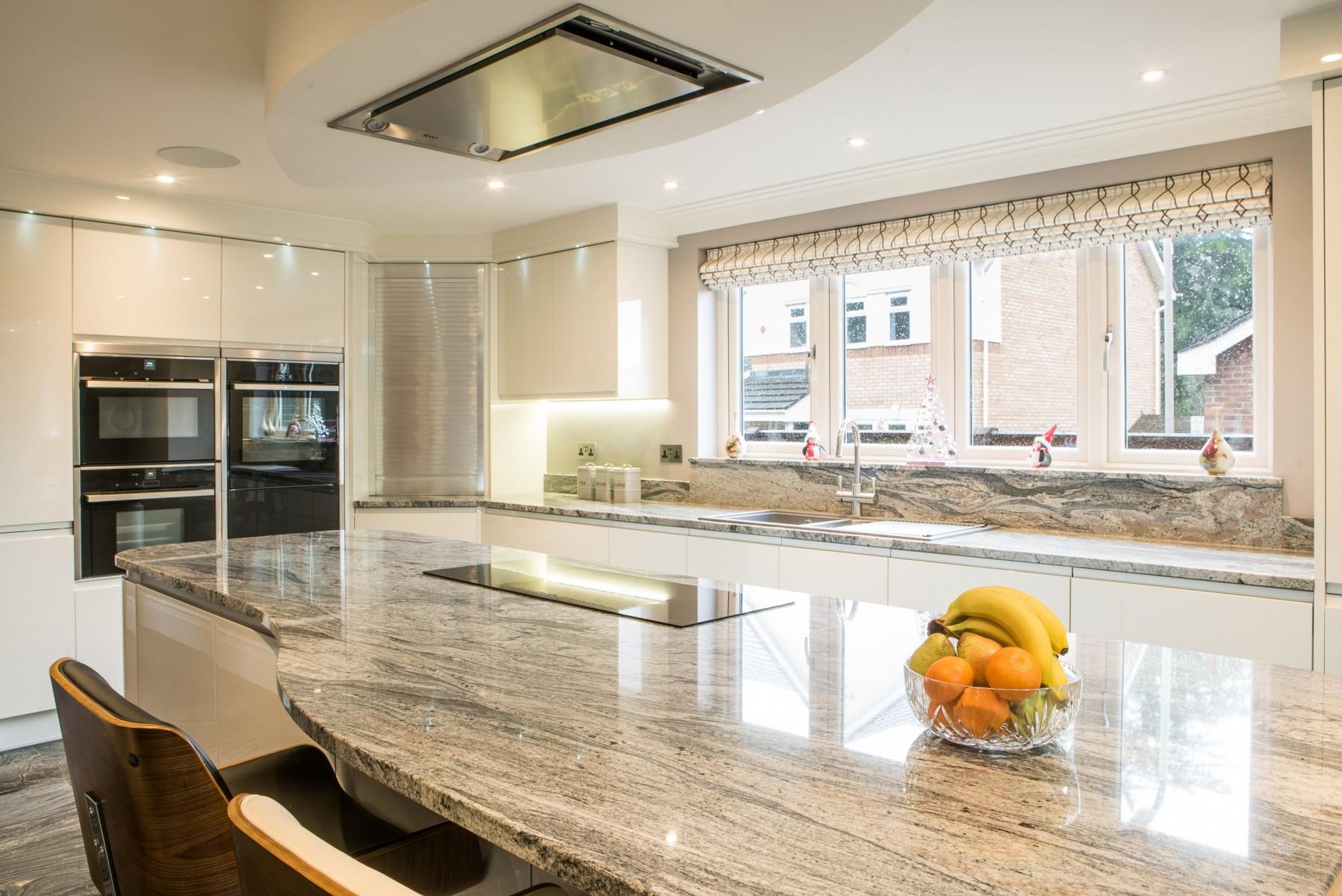 Kinawa White granite Baobab Ebony Limestone kitchen 3
