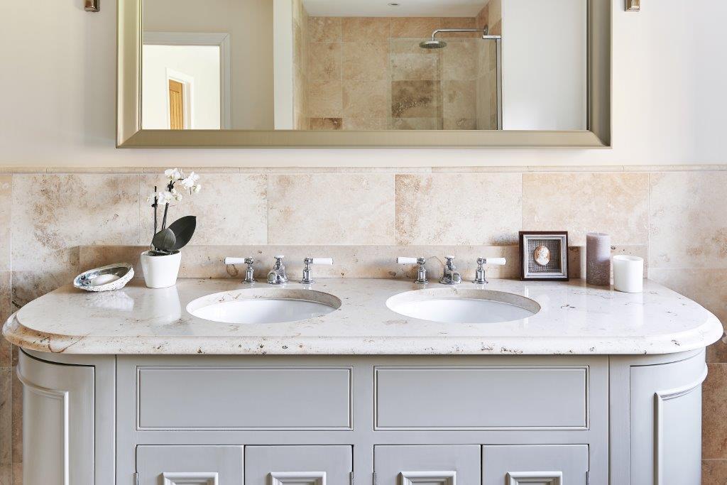 Lennox Kitchens, Bathroom, Jura Beige