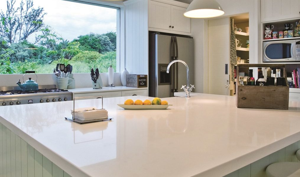 Caesarstone Quartz worktop installation
