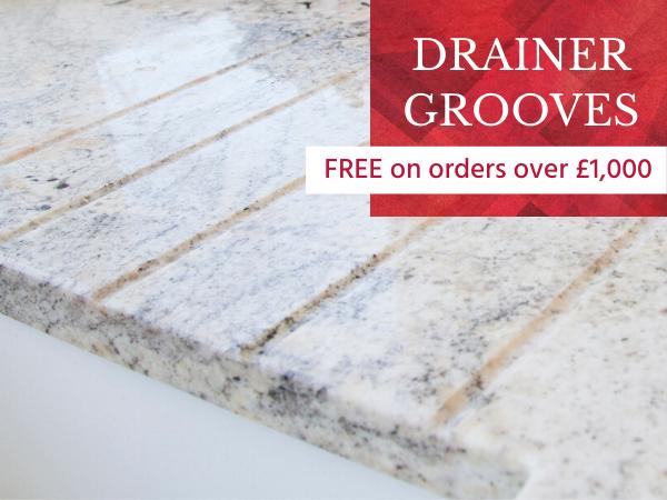 free worktop drainer grooves 1
