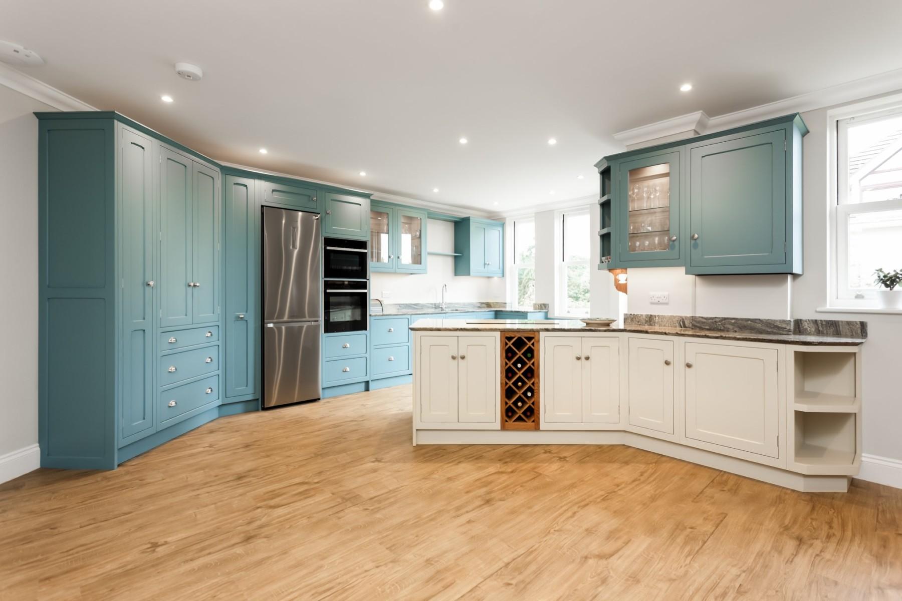 kinawa white granite bh kitchens 3