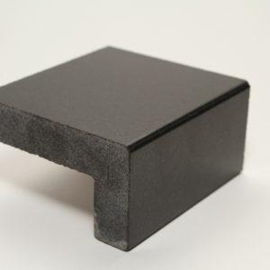 mitred stone edge detail kitchen worktops 1