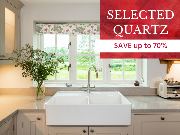 save on selected quartz worktops 1